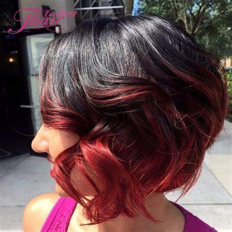 ombre hair vermelho tons mais indicados cuidados  de