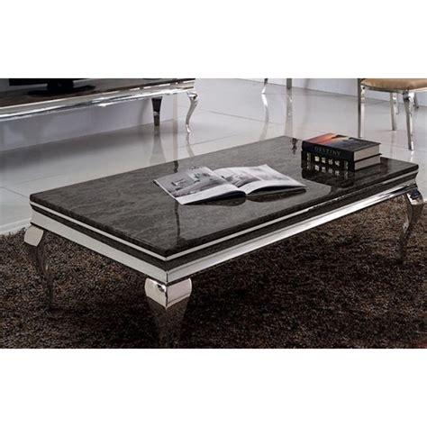 destockage de canapé table basse baroque duchesse en marbre et inox pop design fr