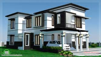 two story house plans with front porch 2500 sq 4 bedroom modern home design kerala home