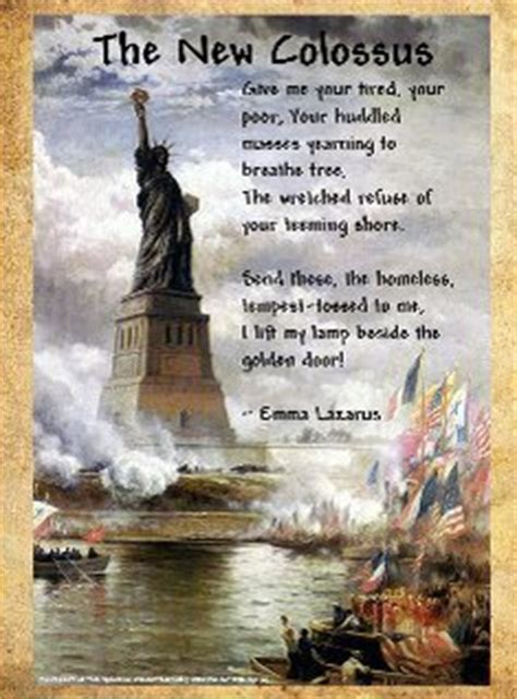 lady liberty   colossus text images  video