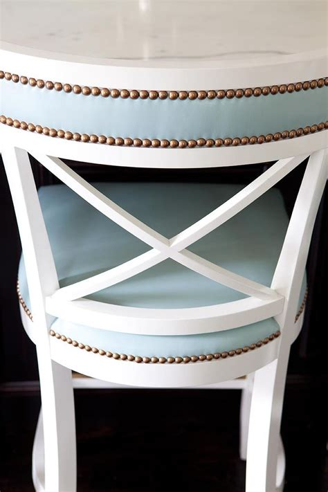 colored leather chairs  barstools megan opel interiors