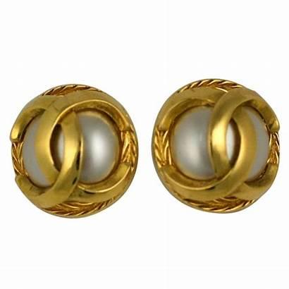 Chanel Earrings Classic 1stdibs Jewelry Clip
