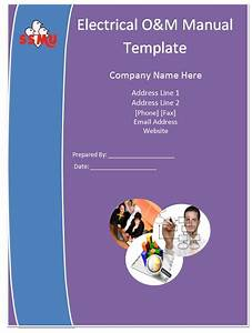 Electrical om manual template guide help steps for O and m manual template