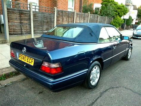1996 mercedes e220 sportline cabriolet auto drives well needs tlc w124 in islington