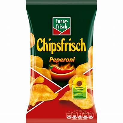 Frisch Funny Chipsfrisch Peperoni Chips 175g Peperonie