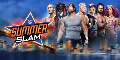 carte finale de wwe summerslam  voxcatch