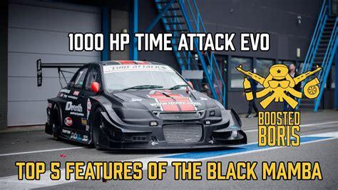 hp time attack evo black mamba  boosted boris