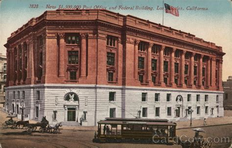 New ,500,000 Post Office And Federal Building Los