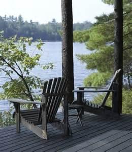 Adirondack Chair Lake Cottage