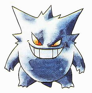 File:Gengar - Pokemon Red and Blue.png - PidgiWiki