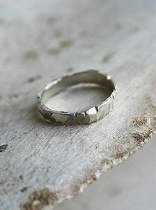 ragged white gold wedding band by macha jewelry future With wedding rings that don t conduct electricity