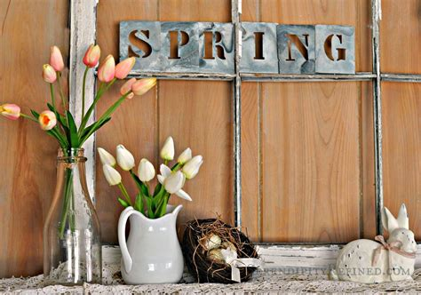Rustic Farmhouse Spring Decor Ideas Designs For