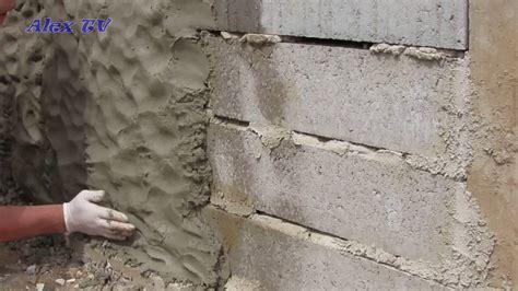 Steinoptik Wand Selber Machen by Mauer Aus Beton In Steinoptik Selber Machen