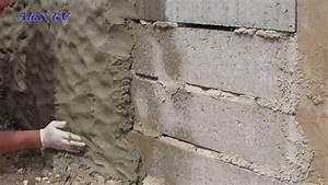 Wand Mit Steinoptik : mauer aus beton in steinoptik selber machen youtube ~ Watch28wear.com Haus und Dekorationen