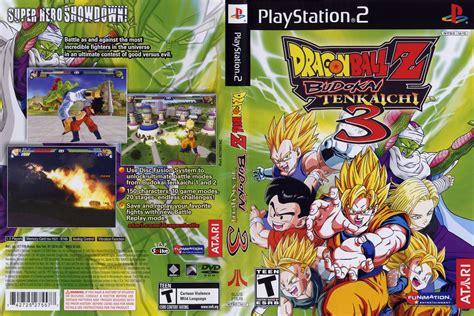 Dragon Ball Z Budokai Tenkaichi 3 Originalmente Lanzado