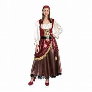 Damen Kostüm Piratin : piratenkost m damen deluxe kleid piraten kost m piratin frauen bergr e xxl neu ebay ~ Frokenaadalensverden.com Haus und Dekorationen