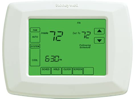 Day Programmable Thermostat Rthd Honeywell