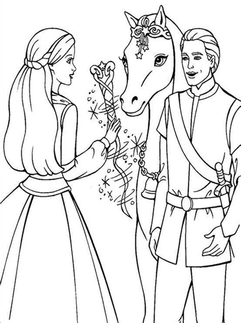 kids page barbie coloring pages  childrens