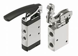 Festo Debuts Directional Control Valves For Manual Or