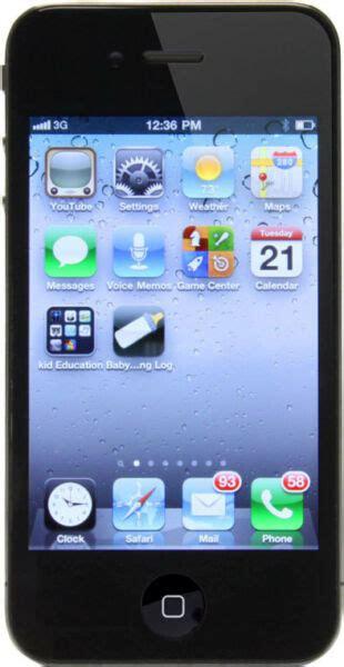 apple iphone  gb black unlocked  gsm ebay