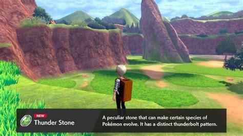 Pokemon Sword and Shield Thunder Stone evolutions