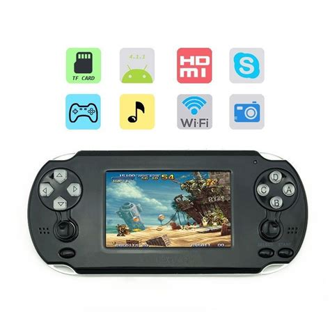 Tlex Ulike Android 4.1 3.5inch Wifi Console Support For