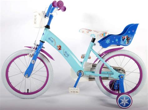 und elsa fahrrad 16 zoll fahrrad disney frozen kinderfahrrad m 228 dchen elsa