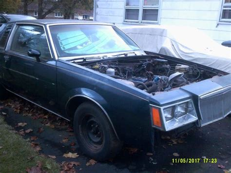 1987 Buick Grand National Parts For Sale by 1982 Buick Regal Sport Coupe Parts Car 1982 To 1987 Regal