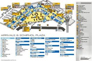 Amsterdam Schiphol Airport Map