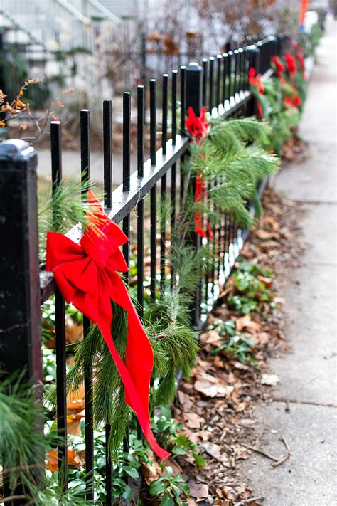 garland for decorating fences decor outdoors a giveaway it all started with paint