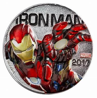 Iron Marvel Fiji Coin Specimen Gem Bu
