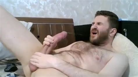 Beefy Russian Big Dick Cums