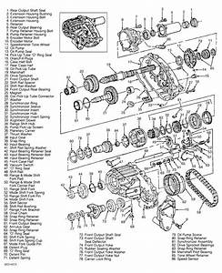 Np233 Transfer Case Rebuilk  U0026 Parts Illustration  You Save
