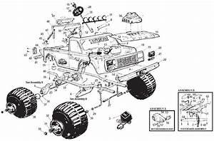 Power Wheels Bigfoor Parts