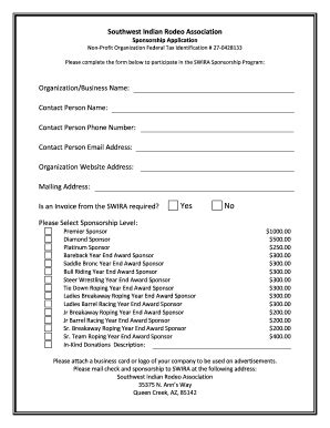 printable drag racing sponsorship proposal template edit