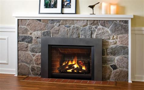 save money   gas fireplace insert decorate home