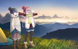 yuru camp wallpapers hd desktop backgrounds wallpapermaiden
