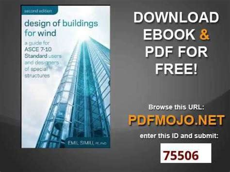 Design of Buildings for Wind A Guide for ASCE 7 10
