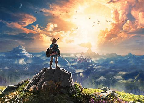 Breath Of The Wild Cover Art In 5k Resolution Breathof