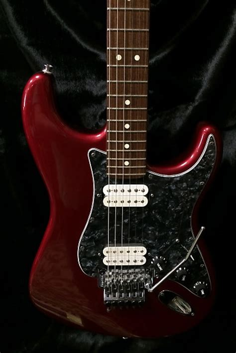 fender american deluxe stratocaster 2002 w floyd