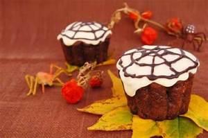 Halloween Muffins Rezepte Mit Bild : rezepte f r kinder halloween party spinnen muffins ~ Frokenaadalensverden.com Haus und Dekorationen