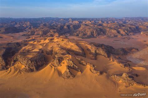 Sahara Desert. Aerial view