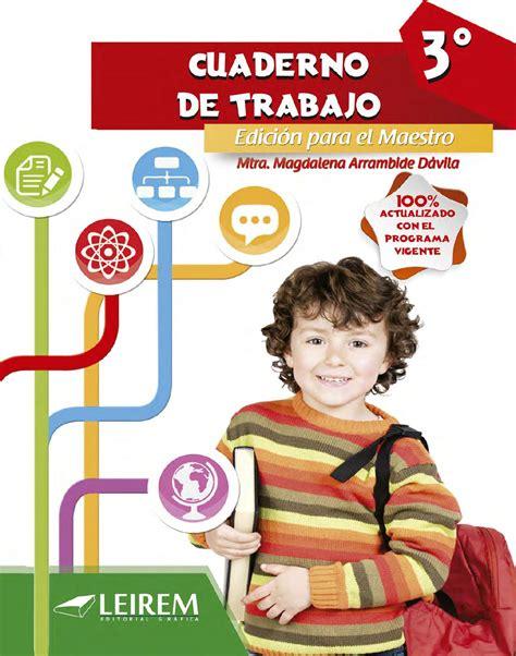 Cuaderno de trabajo 3ero by Daniel Salinas Gonzalez Issuu