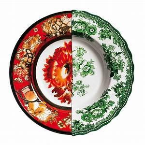 Assiette Creuse Design : assiette creuse hybrid cecilia 25 4 cm cecilia seletti ~ Teatrodelosmanantiales.com Idées de Décoration