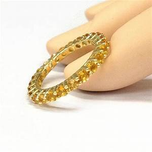 399 citrine wedding band eternity anniversary ring 14k With citrine wedding rings