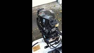 25hp Mercury Outboard Two Stroke Part 1