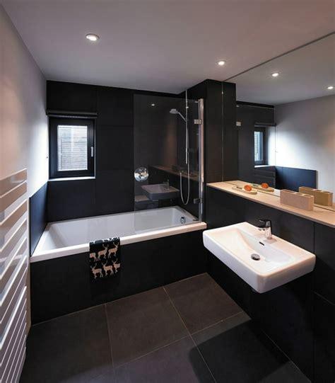 Wohnen Und Ideen by Luxus Badezimmer In Schwarz Der Neue Trend