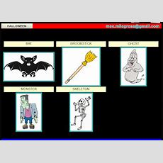 English Language Resources Learn Vocabulary About Halloween