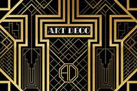 art deco images Art Deco Illustration | An Art Deco style pattern inspired ...