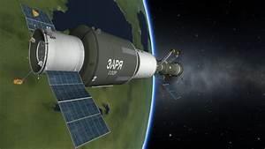 Salyut Stations & Soyuz Ferries - Parts Pack - Kerbal ...